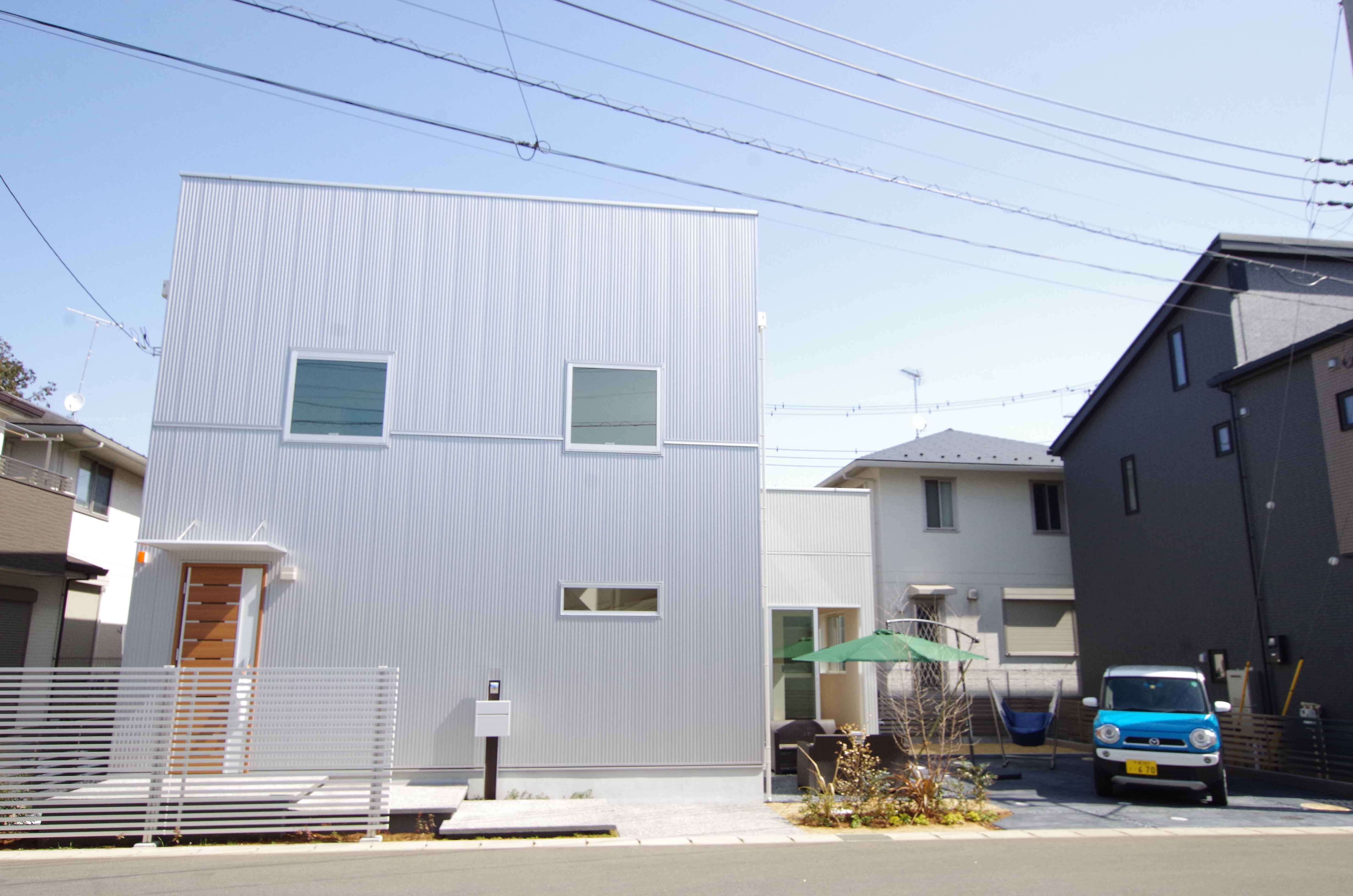 I.CUBE with ROOM ROOF BALCONY施工例